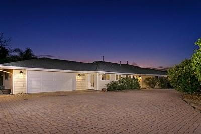Escondido Single Family Home For Sale: 3131 Sans Souci Dr