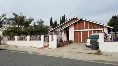 Spring Valley Single Family Home For Sale: 8320 Holt