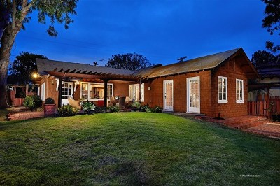Del Mar Single Family Home For Sale: 207 13th Street