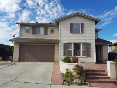 San Marcos Single Family Home For Sale: 676 Saddleback Way
