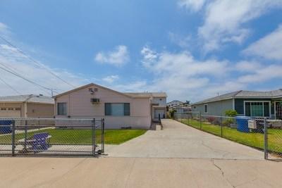 Chula Vista Multi Family Home For Sale: 350 Brightwood