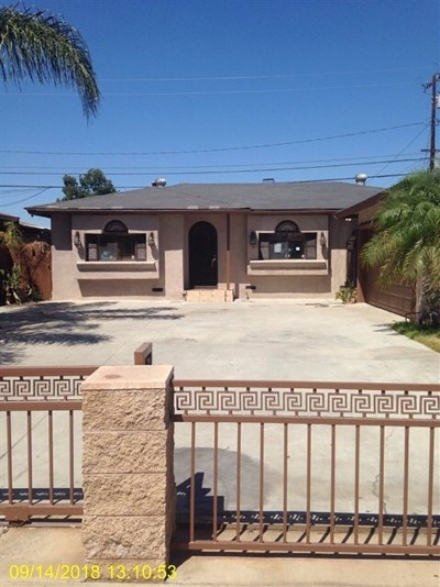 Anaheim Single Family Home Active Under Contract: 1423 E Elm St