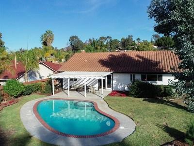 Bonita Single Family Home For Sale: 4144 Corral Canyon Rd
