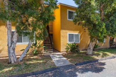 San Diego Condo/Townhouse For Sale: 4429 Tremont St. #4