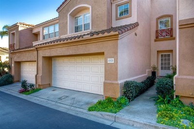 Carlsbad Condo/Townhouse For Sale: 6908 Avocet Ct