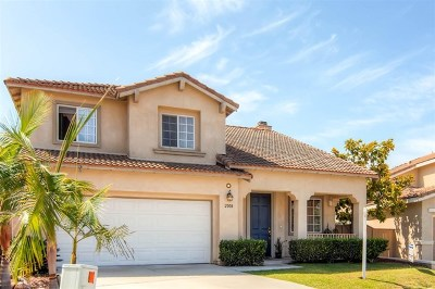 Chula Vista Single Family Home For Sale: 2008 Pinon Hills Rd