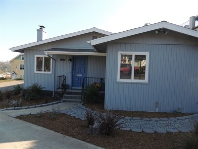 Oceanside Single Family Home For Sale: 1119 Alberta Ave