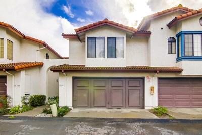 Chula Vista Condo/Townhouse For Sale: 1534 Apache Dr #C