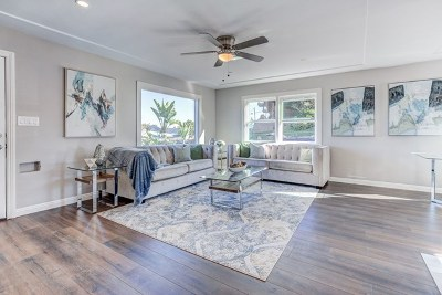 La Mesa Single Family Home For Sale: 7891 Hillside Dr. E
