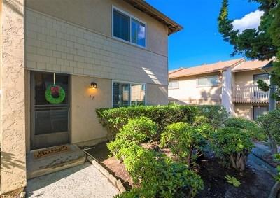 La Mesa Condo/Townhouse For Sale: 5800 Lake Murray Blvd #42