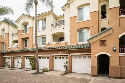 San Diego CA Condo/Townhouse For Sale: $639,900