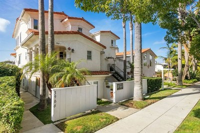 San Diego CA Condo/Townhouse For Sale: $879,900