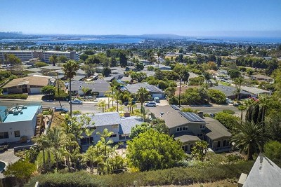 Pacific Beach Single Family Home For Sale: 2364 Romney