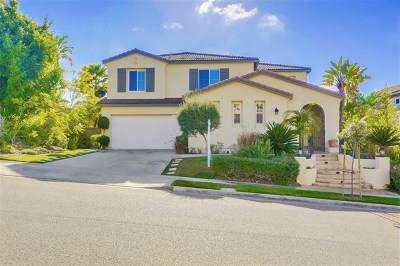 Carlsbad Single Family Home For Sale: 3407 Corte Aciano