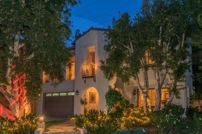 Del Mar Single Family Home For Sale: 3464 Caminito Santa Fe Downs