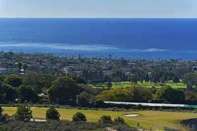 La Jolla Residential Lots & Land For Sale: Country Club Dr