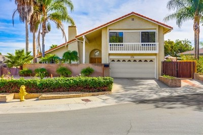 Rancho Penasquitos, Rancho Penesquitos Single Family Home For Sale: 15155 Segovia Ct