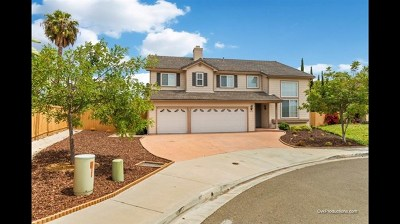 Vista Single Family Home For Sale: 1622 Steeplechase Pl