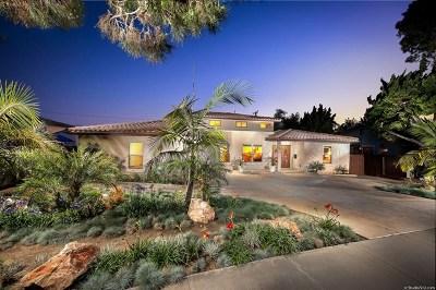 San Diego Single Family Home For Sale: 5250 La Jolla Blvd