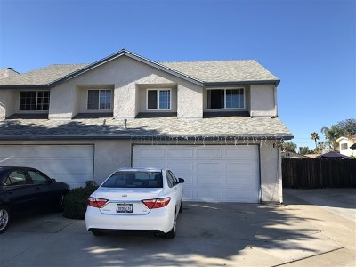 El Cajon Condo/Townhouse For Sale: 1130 Sumner Ave #F