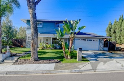Carlsbad Single Family Home For Sale: 4904 Park Drive