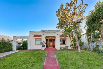 San Diego CA Single Family Home For Sale: $695,000