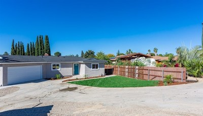 Lemon Grove Single Family Home For Sale: 7505 Davidson Ave.