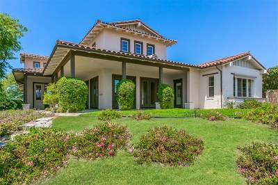 San Diego CA Single Family Home For Sale: $1,525,000