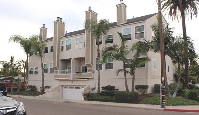 Imperial Beach Condo/Townhouse For Sale: 1000 2nd Street #9