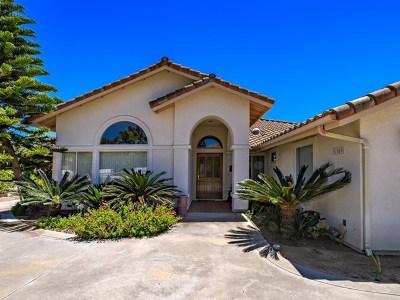 Fallbrook Single Family Home For Sale: 1109 Sea Larke Dr