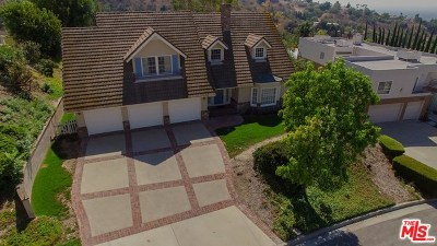 West Covina Single Family Home For Sale: 1059 Holiday Drive
