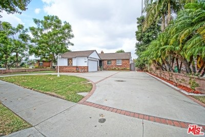 Downey Single Family Home For Sale: 10527 Wiley Burke Avenue