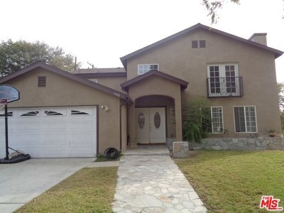 Pomona Single Family Home For Sale: 1498 Val Vista Street