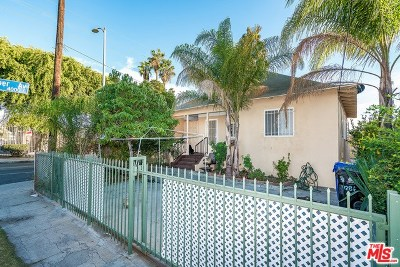 Los Angeles Multi Family Home For Sale: 1286 E Martin Luther King Jr