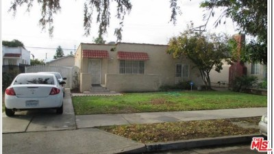 Compton Single Family Home For Sale: 346 W School Street