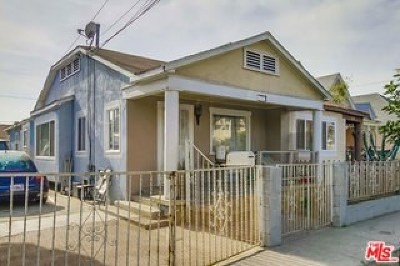 Los Angeles Multi Family Home For Sale: 234 E 27th Street