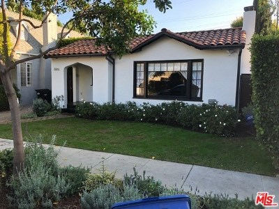 West Hollywood Single Family Home For Sale: 8814 Rosewood Avenue