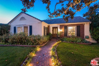 Toluca Lake Single Family Home For Sale: 10403 Valley Spring Lane