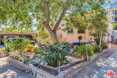 West Hollywood Single Family Home For Sale: 921 Hilldale Avenue