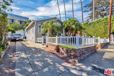 West Hollywood Single Family Home For Sale: 927 Hilldale Avenue