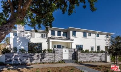 Santa Monica Single Family Home For Sale: 802 San Vicente Boulevard