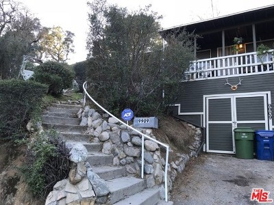Tujunga Single Family Home Active Under Contract: 9909 Hirondelle Lane