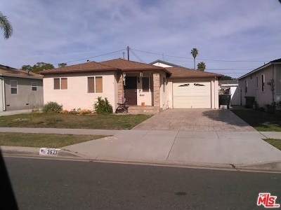 Torrance Single Family Home For Sale: 3621 W 177th Street