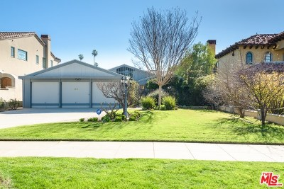 Santa Monica Single Family Home For Sale: 234 Marguerita Avenue