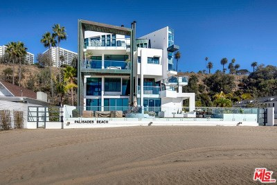 Santa Monica Condo/Townhouse For Sale: 270 Palisades Beach Road #202