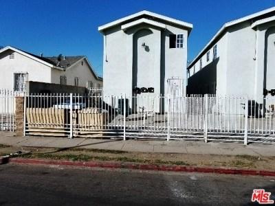Los Angeles Multi Family Home For Sale: 10523 Juniper Street