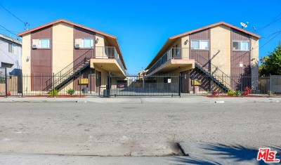 Gardena Multi Family Home For Sale: 1703 W 146th Street