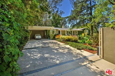 Studio City Single Family Home For Sale: 3651 Woodhill Canyon Road