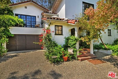 Studio City Single Family Home For Sale: 3665 Woodhill Canyon Road