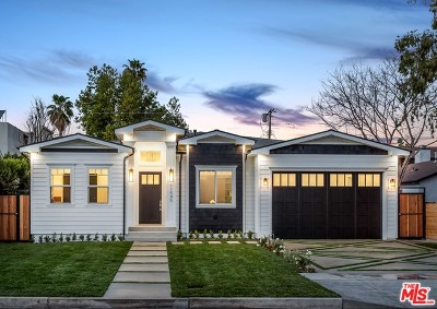 Studio City Single Family Home For Sale: 11545 Blix Street